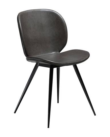 Sivá koženková stolička DAN-FORM Denmark Cloud