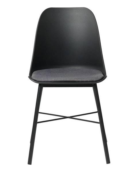 Unique Furniture Čierna jedálenská stolička Unique Furniture Whistler