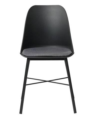 Čierna jedálenská stolička Unique Furniture Whistler