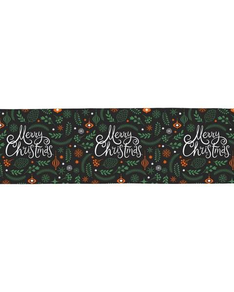 Butter Kings Bavlnený behúň s vianočným motívom Butter Kings Very Merry Christmas, 140 x 40 cm