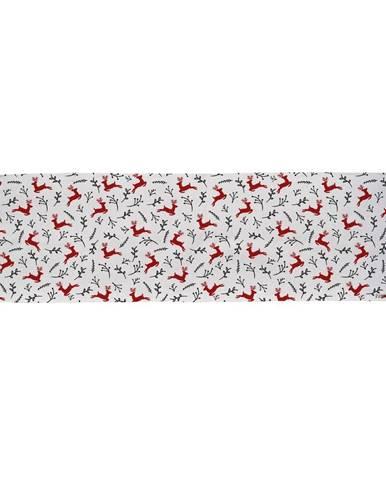 Bavlnený behúň s vianočným motívom Butter Kings They Are Flying, 140 x 40 cm