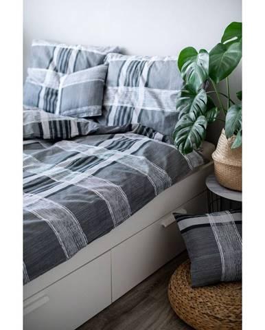 Sivé bavlnené obliečky Cotton HoIgnacio, 140 x 200 cm