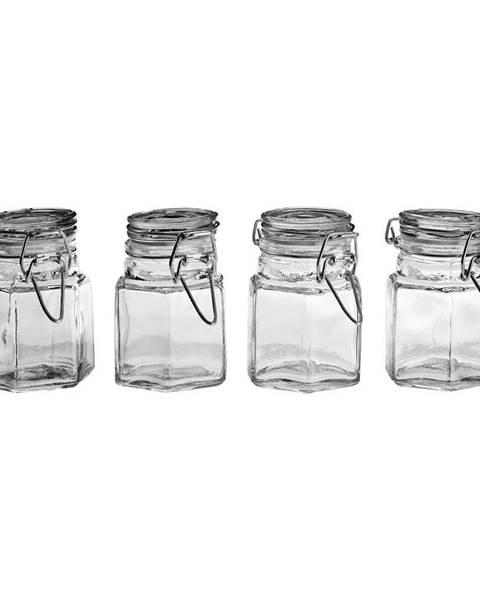 Premier Housewares Sada 4 sklenených koreničiek Premier Housewares