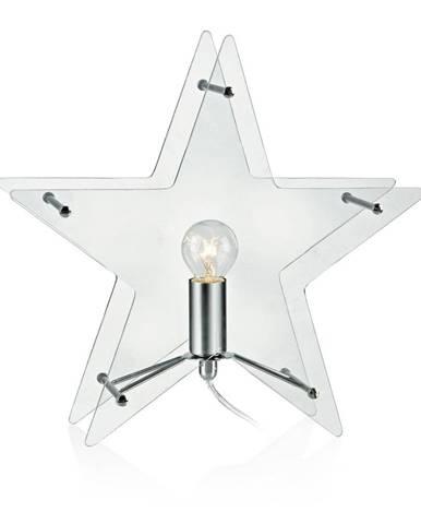 Sklenená svetelná dekorácia Markslöjd Klang, výška 30 cm