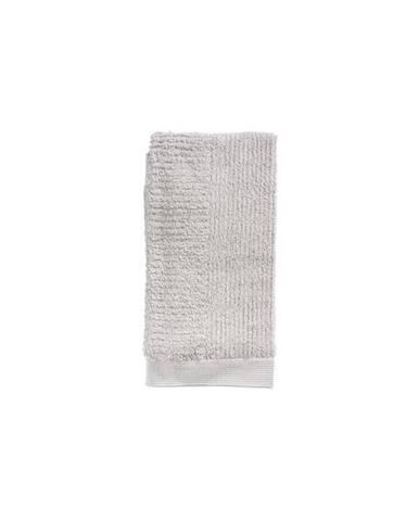 Svetlosivý uterák zo 100% bavlny Zone Classic, 50×100 cm