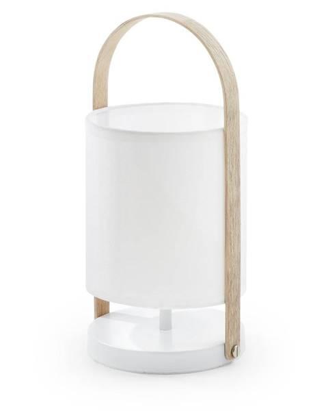 La Forma Biela stolová lampa La Forma Zayla