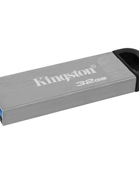 Kingston USB flash disk Kingston DataTraveler Kyson 32GB strieborný