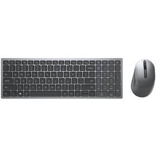 Klávesnica s myšou Dell Multi-Device KM7120W, CZ/SK sivá