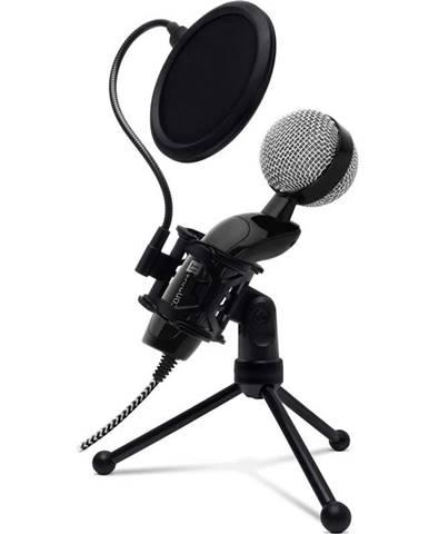 Mikrofón Connect IT YouMic Plus USB s POP filtrem čierny