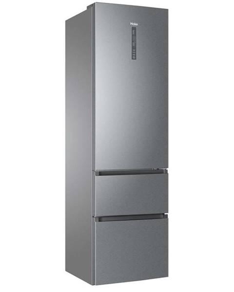 Haier Kombinácia chladničky s mrazničkou Haier A3fe837cgj Titanium