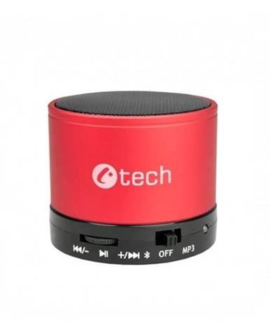 Prenosný reproduktor C-Tech SPK-04R červený