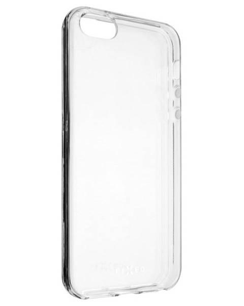 FIXED Kryt na mobil Fixed na Apple iPhone 5/5s/SE priehľadný