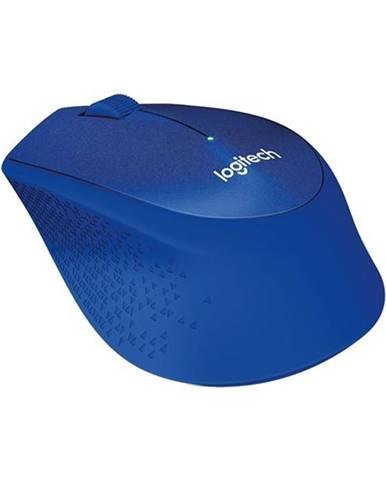 Myš  Logitech Wireless MoM330 Silent Plus modrá / optická / 3