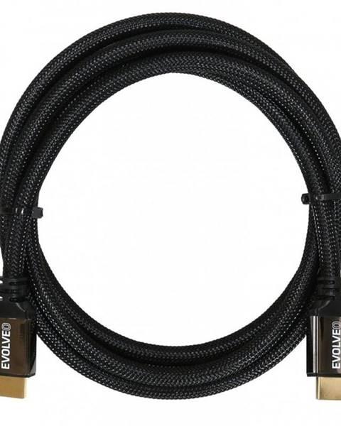 Evolveo Kábel Evolveo Hdmi 2.1, 8K Ultra HD, 4K, 2K a FHD, 2m čierny