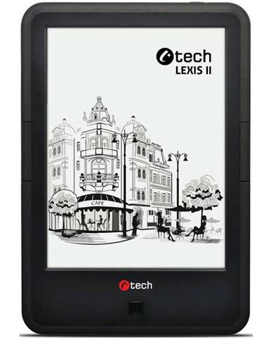 Čítačka kníh C-Tech Lexis II čierna