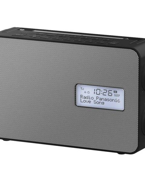 Panasonic Rádioprijímač s DAB+ Panasonic RF-D30bteg-K čierny