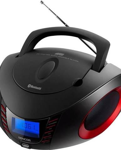 Rádioprijímač s CD Sencor SPT 3600 čierny/červen