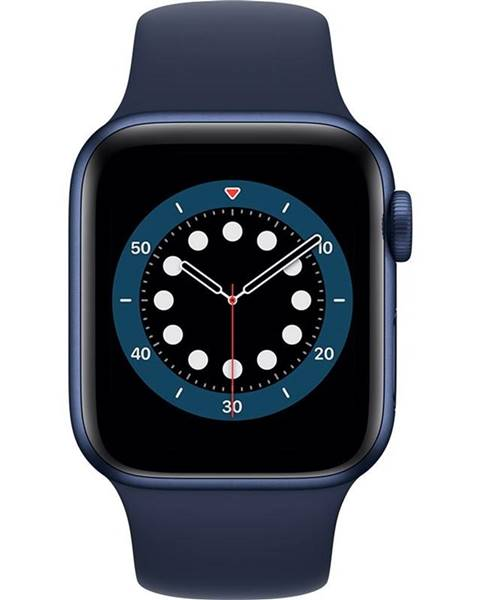 Apple Inteligentné hodinky Apple Watch Series 6 GPS 44mm púzdro z modrého
