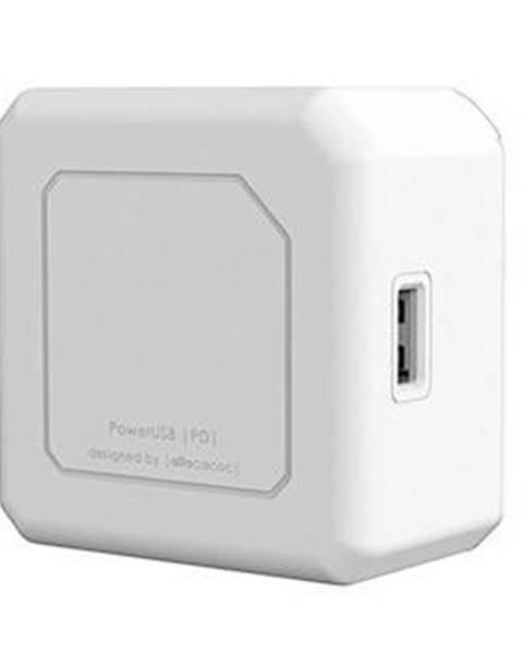 Powercube Nabíjačka do siete Powercube 2x USB, 2x USB-C PD 60W biela