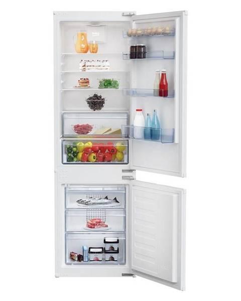 Beko Kombinácia chladničky s mrazničkou Beko Bcsa285k4sn biele