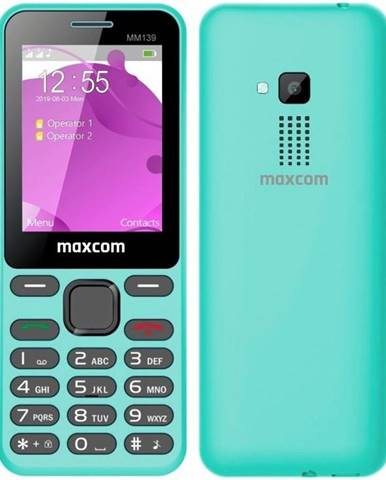 Mobilný telefón MaxCom MM139 modrý