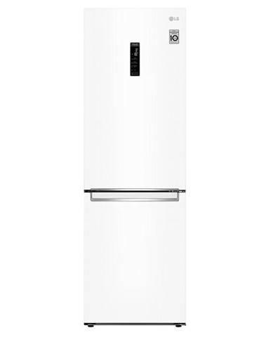 Kombinácia chladničky s mrazničkou LG Gbb71swdmn biela