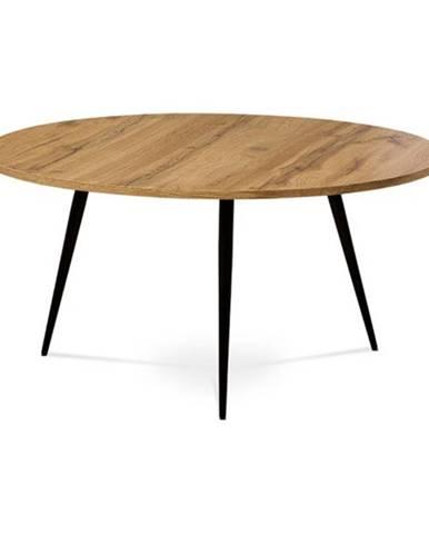 Konferenčný stolík BURGOS divoký dub/čierna