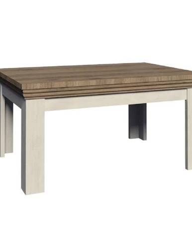 Jedálenský rozkladací stôl sosna nordická/dub divoký ROYAL ST