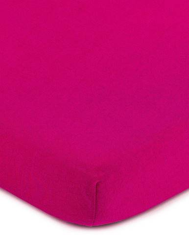 4Home Jersey prestieradlo ružová, 70 x 140 cm