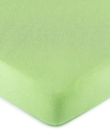 4Home jersey prestieradlo zelená, 160 x 200 cm