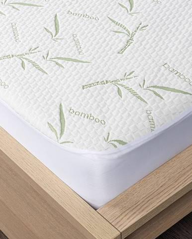 4home Bamboo Chránič matraca s lemom, 180 x 200 cm