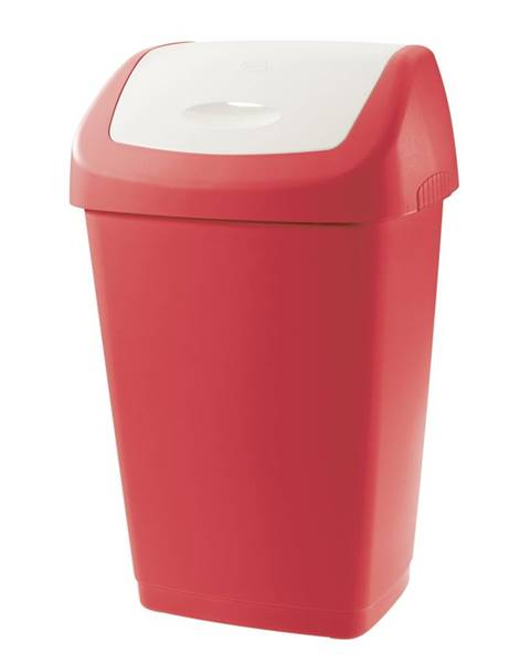 Tontarelli Tontarelli Odpadkový kôš 25L Aurora červená/biela