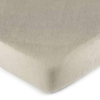 4Home Jersey prestieradlo sivá, 60 x 120 cm