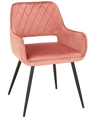 stolička serafina Ružová