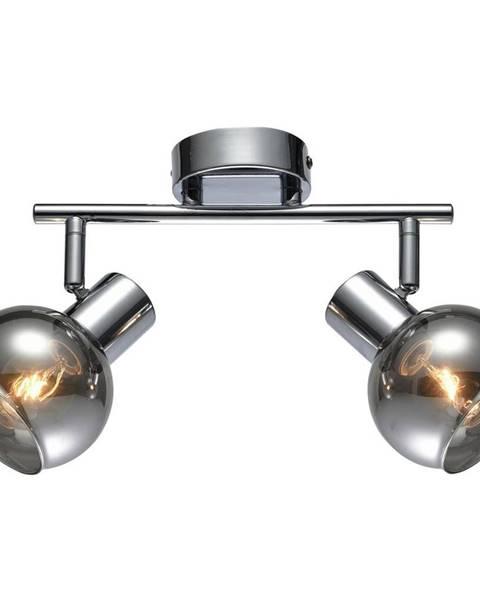 Möbelix Bodové Svetlo Rolli 25cm, 2x40 Watt