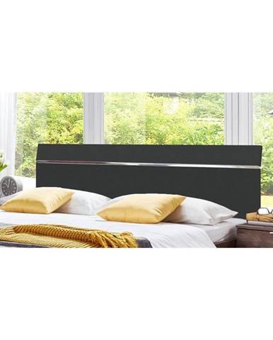Záhlavie Level Beds B Pre Š. 180cm, Grafit/chróm