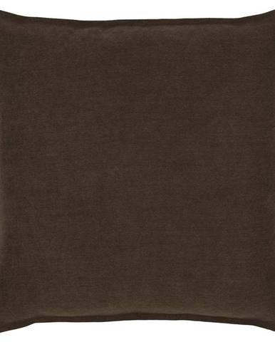 Dekoračný Vankúš Poppy, 45/45 Cm, Hnedá