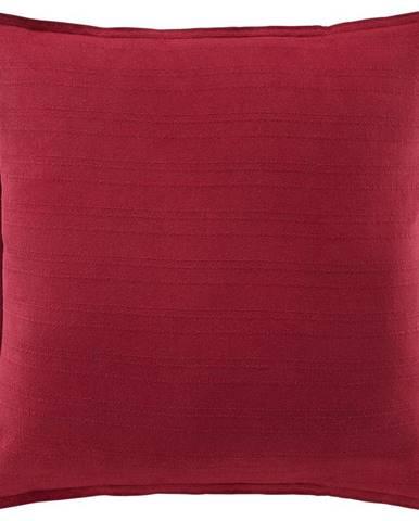 Dekoračný Vankúš solid One, 45/45cm, Červená
