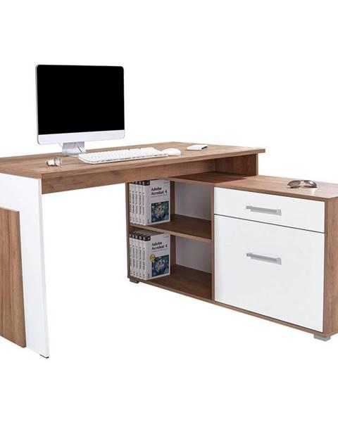 Möbelix Rohový Písací Stôl Ludwig