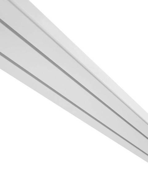 Möbelix Záclonové Koľajničky Amelie, 120cm, Biela