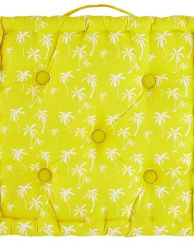 Sedák Na Stoličku Lady Palms, 40/40/8cm, Žltá