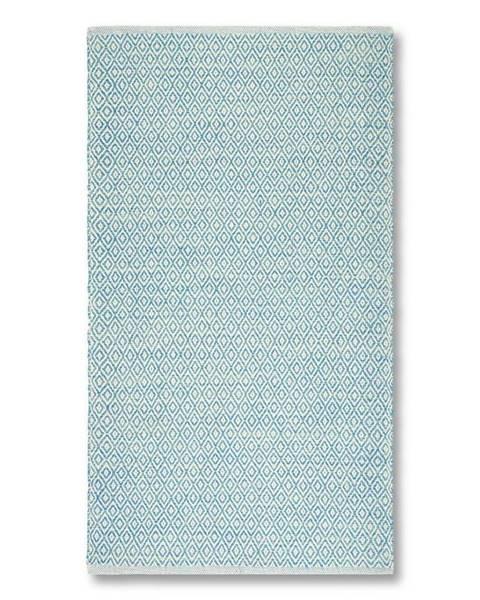 Möbelix Ručné Tkaný Koberec Carola 2, 80/150, Modrá