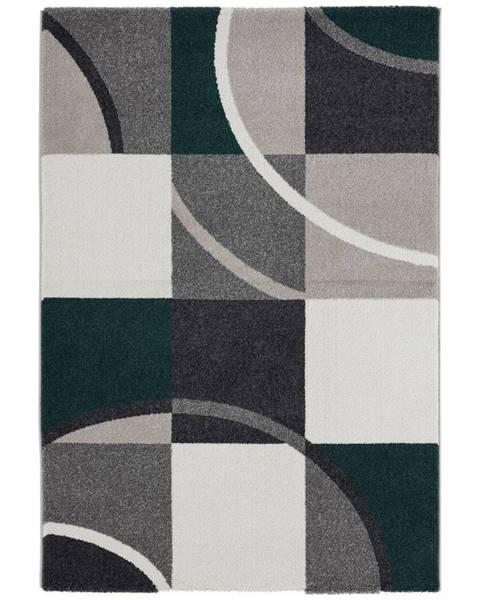 Möbelix Tkaný koberec Palermo 1, 80/150cm, Zelená
