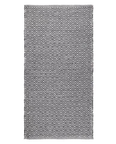 Ručné Tkaný koberec Carola 1, 60/120cm, sivá