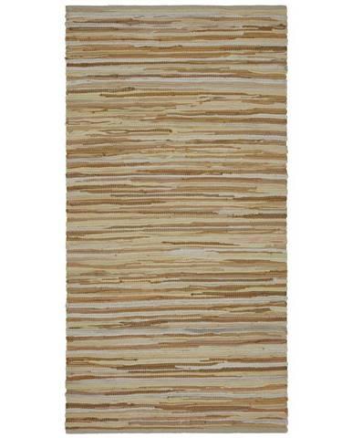Ručné Tkaný koberec Verona 1, 60/120cm, Béžová