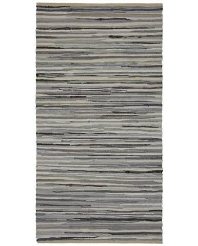 Ručné Tkaný koberec Verona 2, 80/150cm, sivá