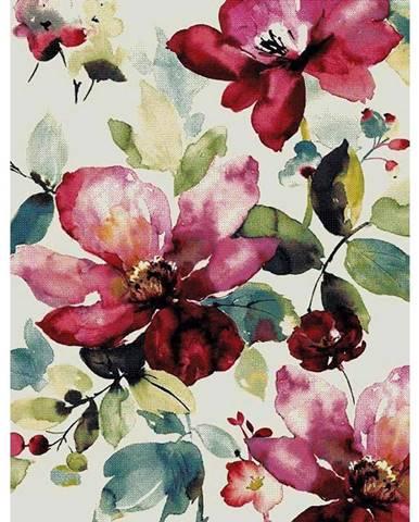 Tkaný Koberec Flower 1, 80/150cm