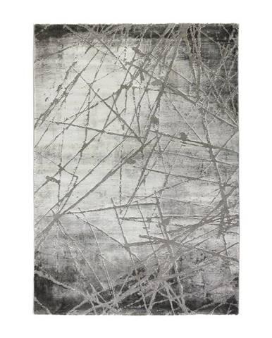 Tkaný Koberec Manchester 3, 160/230cm, Sivá