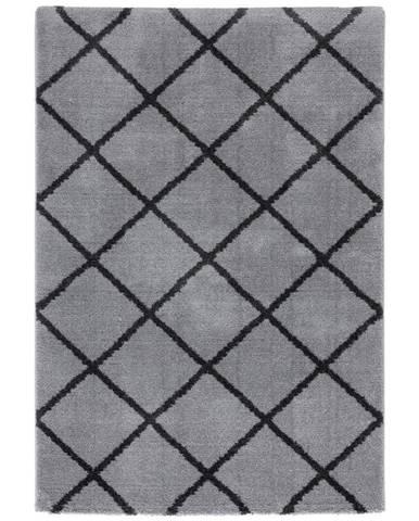Tkaný Koberec Montreal 2, 120/170cm, Sv.sivá