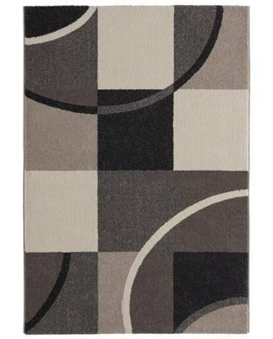 Tkaný koberec Palermo 2, 120/170cm, sivá